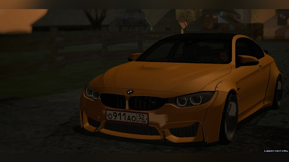 Машина BMW для GTA San Andreas (iOS, Android)