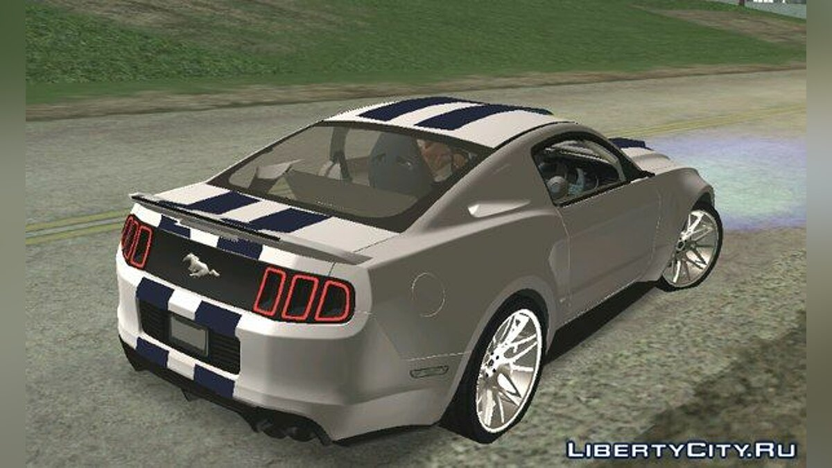 ��ашина Shelby GT500 Super Snake для GTA San Andreas (iOS, Android)
