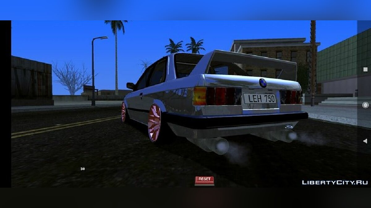 Машина BMW e30 (только DFF) для GTA San Andreas (iOS, Android)