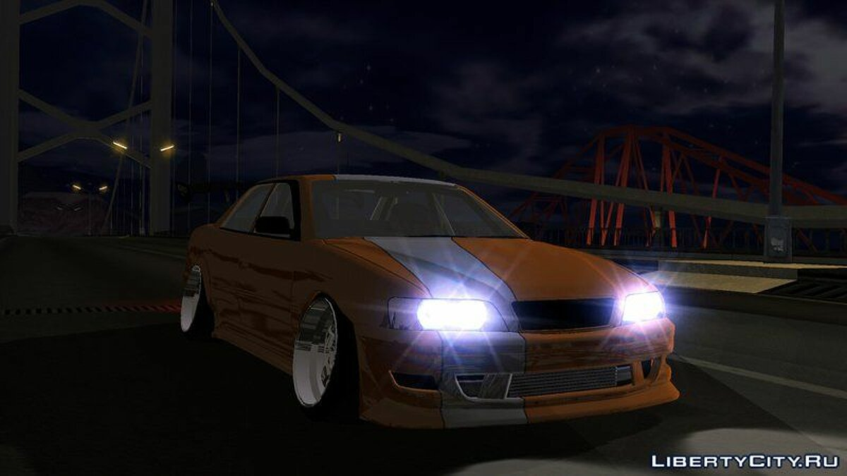 Toyota Chaser Tourer V JZX100 Tuned для GTA San Andreas (iOS, Android) - Картинка #1
