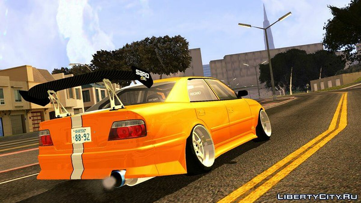 Toyota Chaser Tourer V JZX100 Tuned для GTA San Andreas (iOS, Android) - Картинка #4