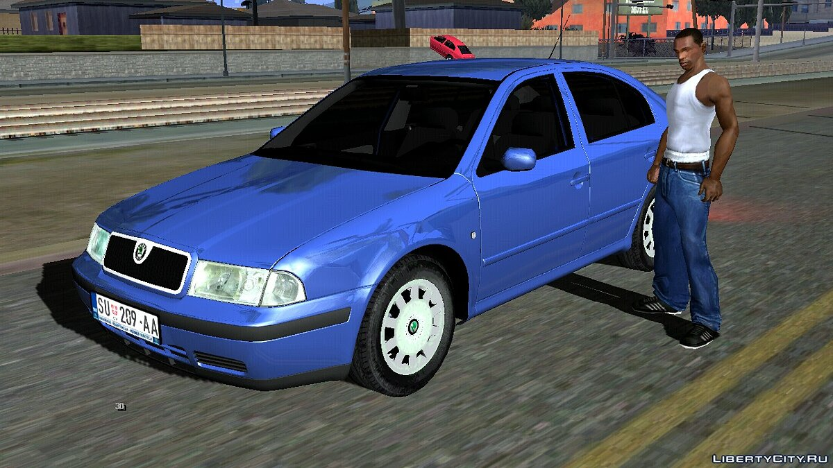 Машина 2003 Skoda Octavia Mk1 для GTA San Andreas (iOS, Android)