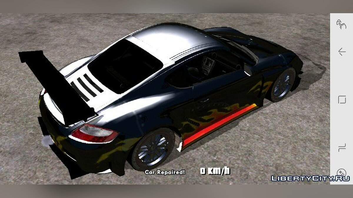 Машина Porsche Cayman S для GTA San Andreas (iOS, Android)