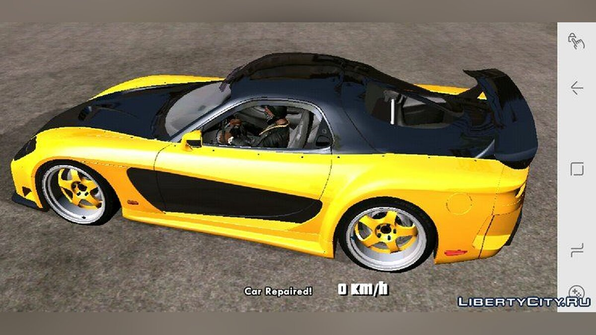 Машина Mazda RX7 Veilside Fortune для GTA San Andreas (iOS, Android)