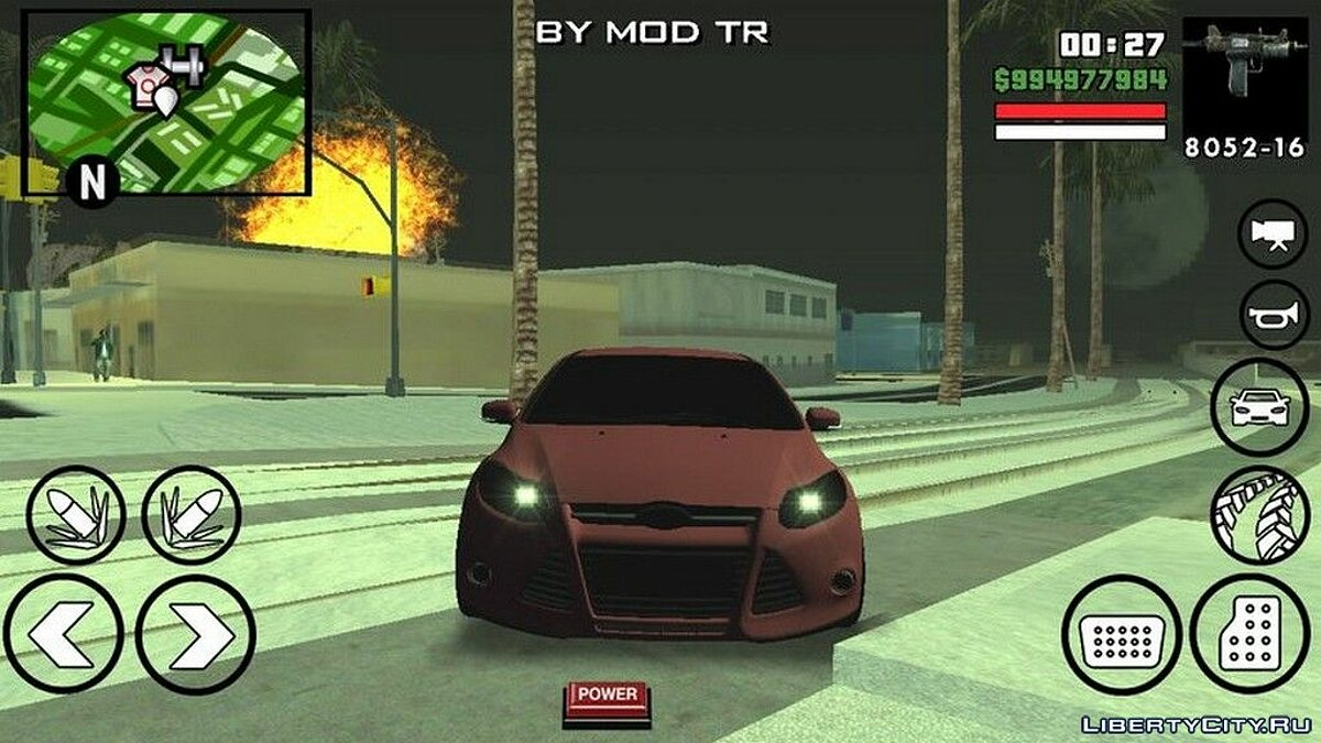 Ford Focus BMT Yapim для GTA San Andreas (iOS, Android) - Картинка #3