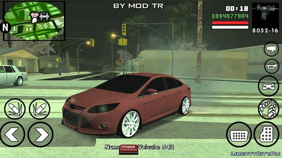 Ford Focus BMT Yapim для GTA San Andreas (iOS, Android) - Картинка #1