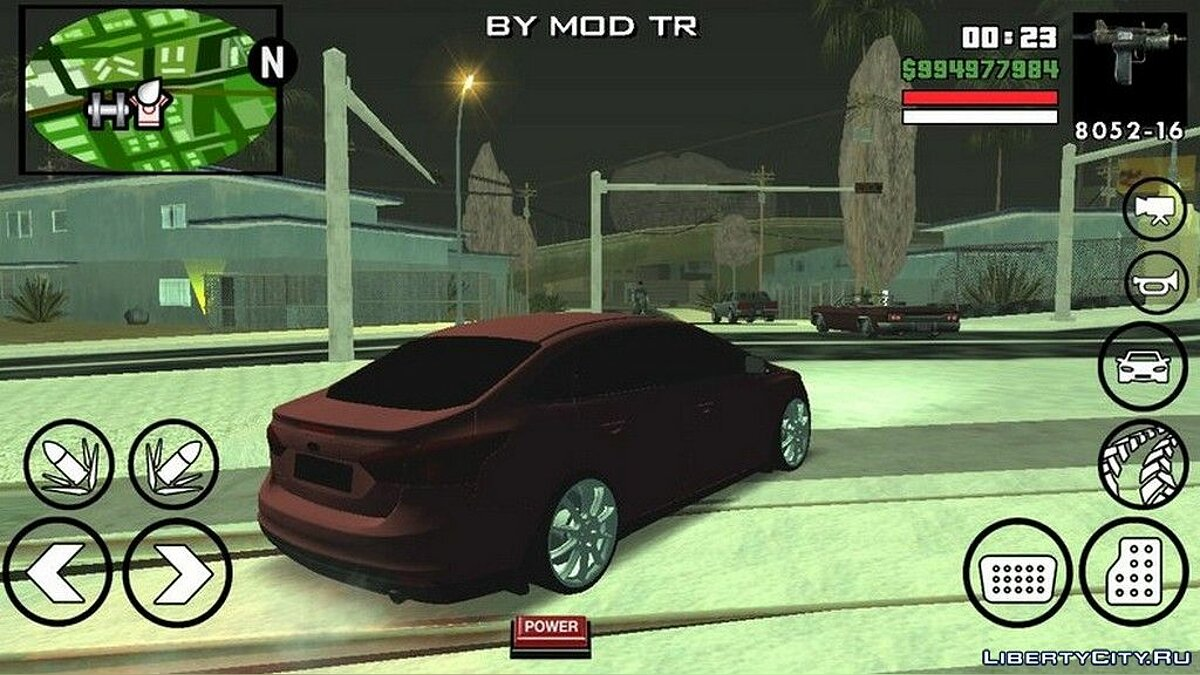 Ford Focus BMT Yapim для GTA San Andreas (iOS, Android) - Картинка #4