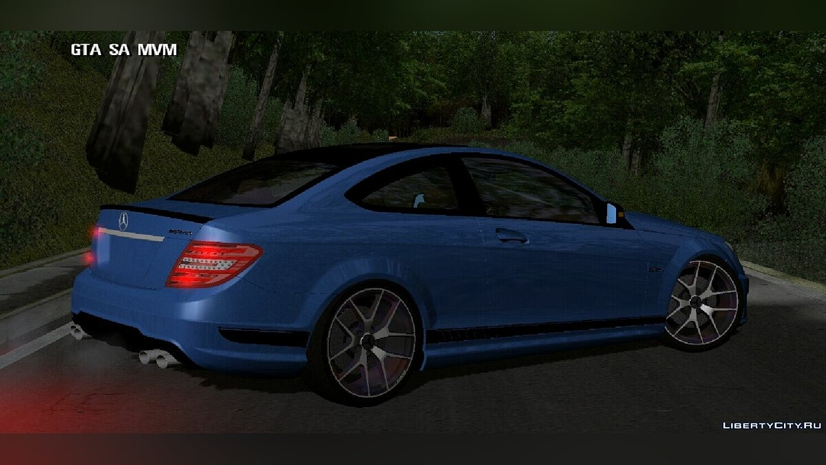 Машина Mercedes-Benz для GTA San Andreas (iOS, Android)