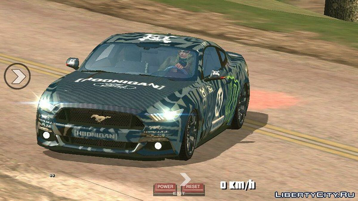 Ford Mustang GT для GTA San Andreas (iOS, Android) - Картинка #1