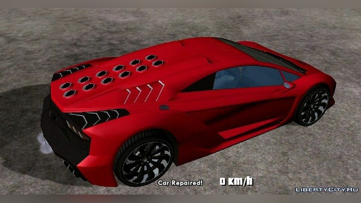 Машина Pegassi Zentorno для GTA San Andreas (iOS, Android)