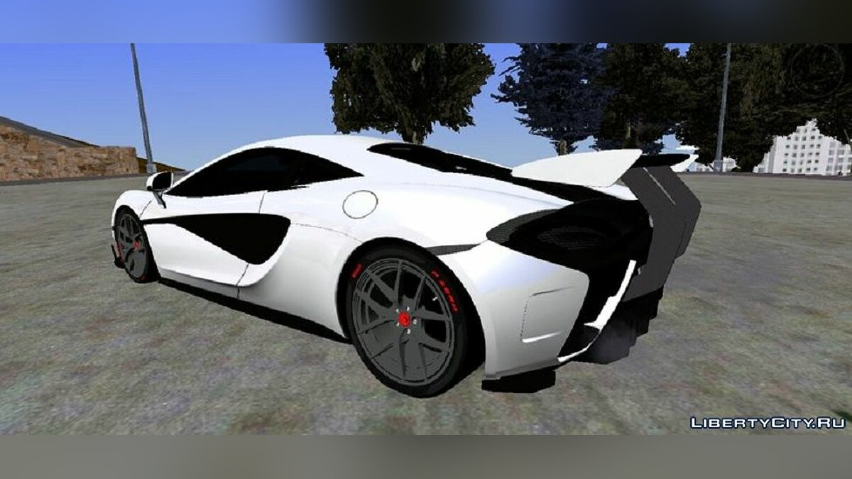 Машина McLaren 570S Vorsteiner  для GTA San Andreas (iOS, Android)