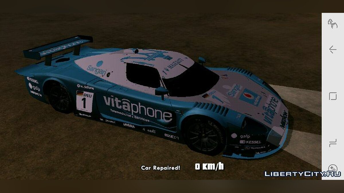 Машина Maserati MC12 GT1 Exclusive для GTA San Andreas (iOS, Android)