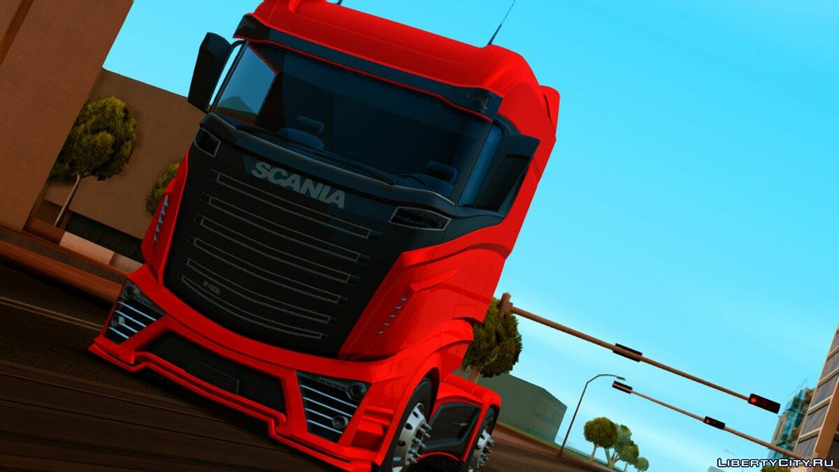 Машина Scania R-1000 для GTA San Andreas (iOS, Android)