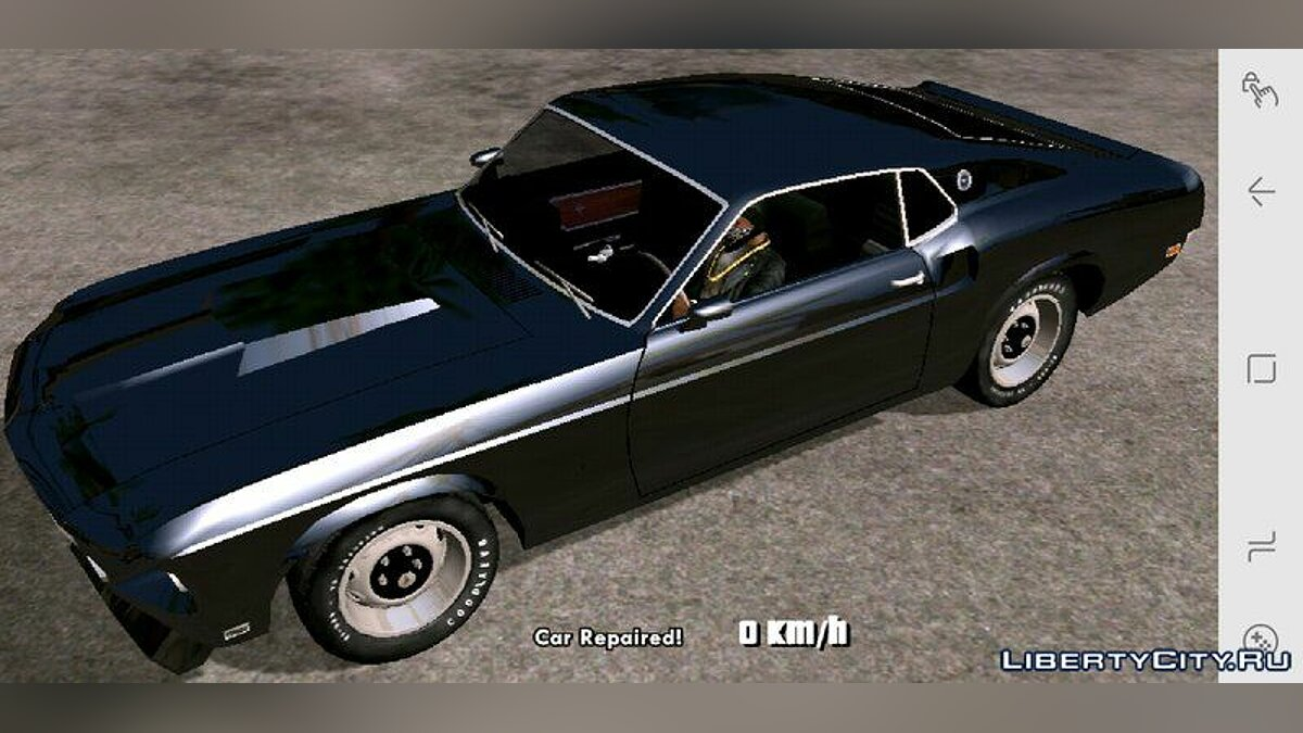 Машина 1969 Ford Mustang Boss 429 для GTA San Andreas (iOS, Android)