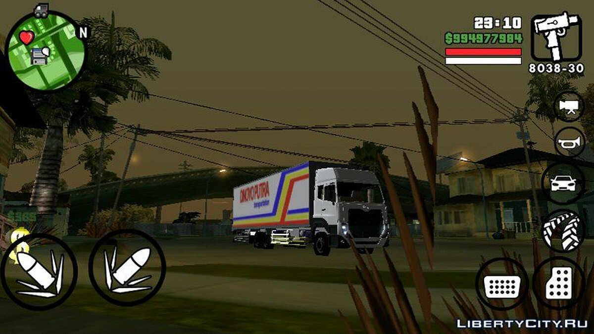 UD Nissan Quester Wing Box для GTA San Andreas (iOS, Android)