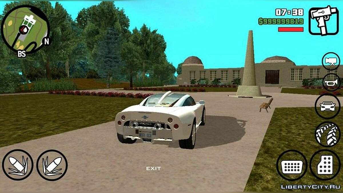 Spyker C8 Aileron для GTA San Andreas (iOS, Android) - Картинка #4