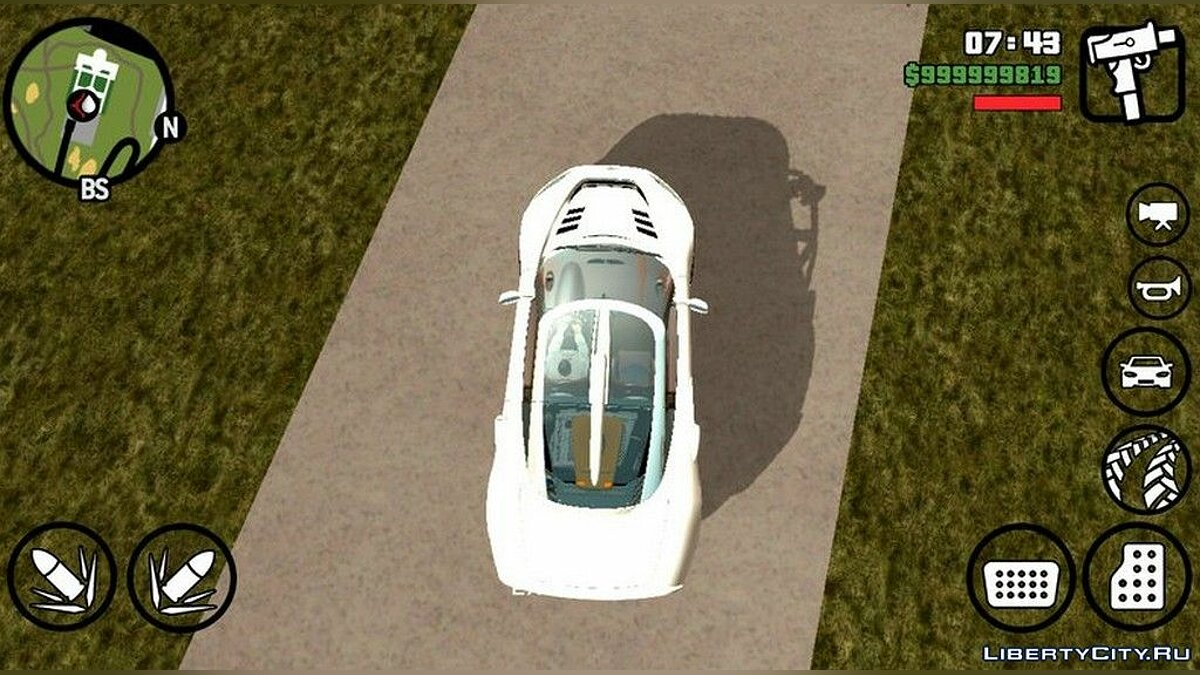 Spyker C8 Aileron для GTA San Andreas (iOS, Android) - Картинка #3