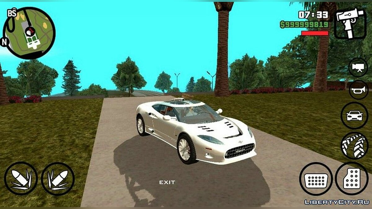 Spyker C8 Aileron для GTA San Andreas (iOS, Android) - Картинка #1