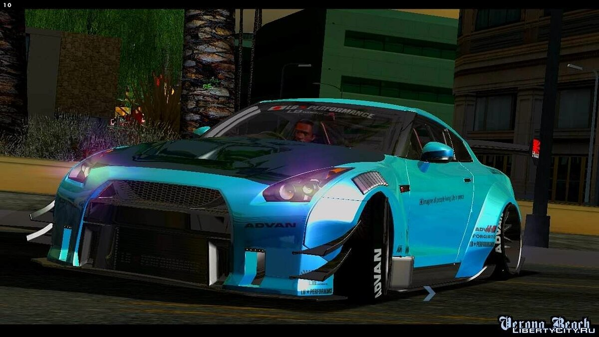 Nissan GT-R35 Libety Walk Type 2 2018 для GTA San Andreas (iOS, Android) - Картинка #1
