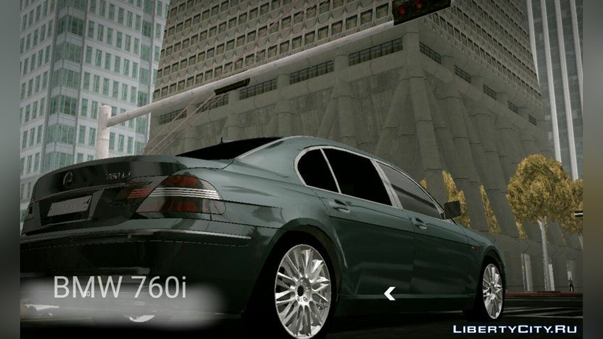 BMW 760i (no txd) for Android для GTA San Andreas (iOS, Android)