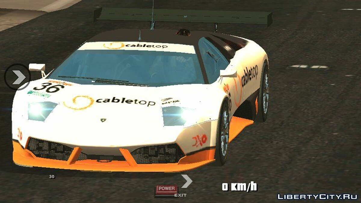 Lamborghini Murcielago для GTA San Andreas (iOS, Android) - скриншот #2