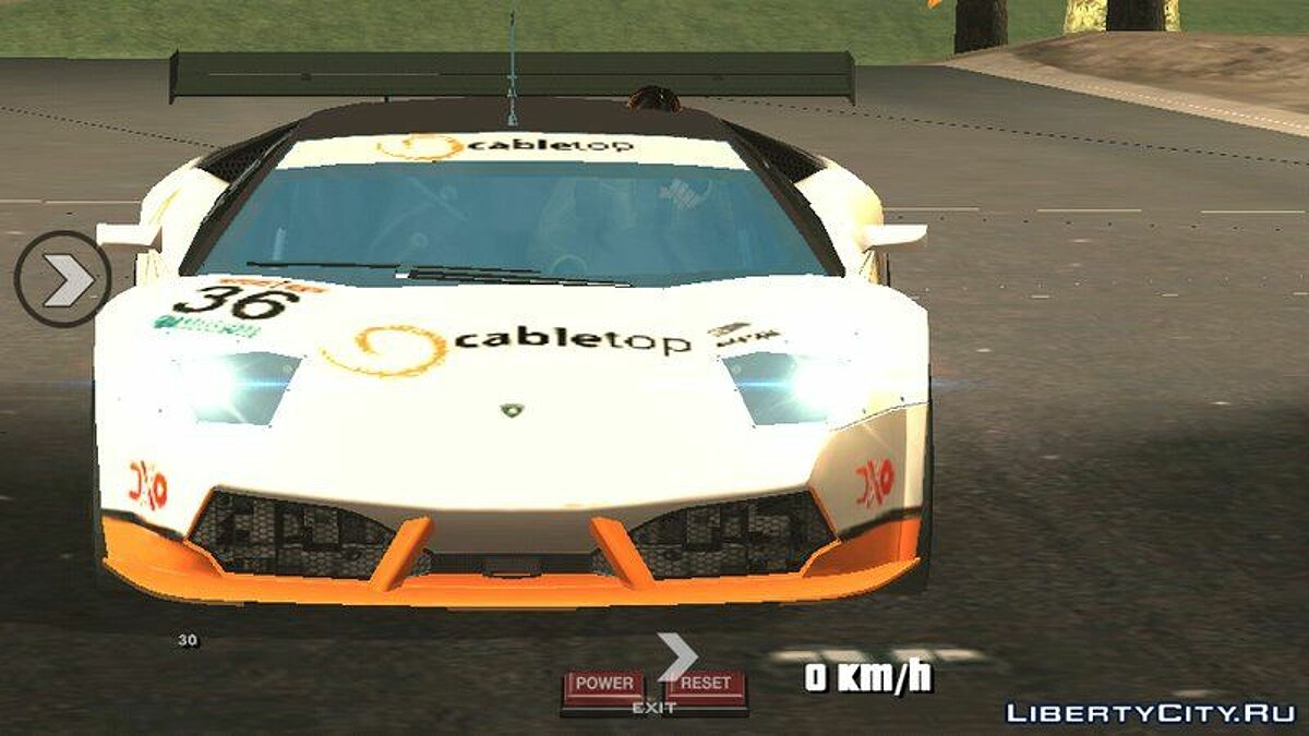 Lamborghini Murcielago для GTA San Andreas (iOS, Android) - скриншот #3