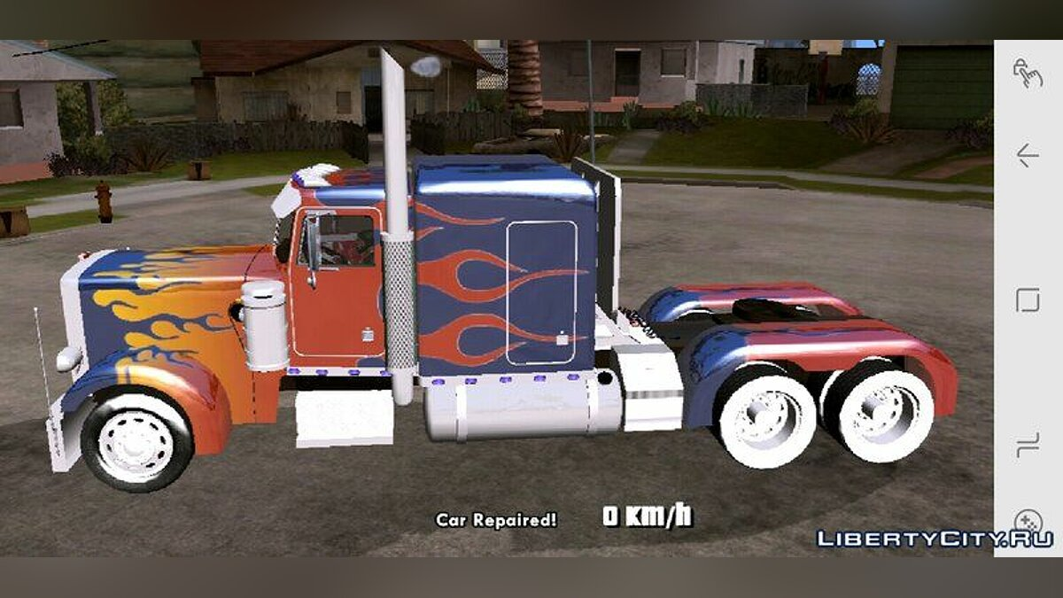 Optimus Prime Truck для GTA San Andreas (iOS, Android)