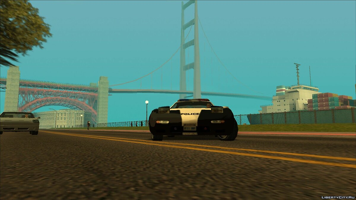 ��ашина ZR-350 SFPD Police Pursuit car   для GTA San Andreas (iOS, Android)