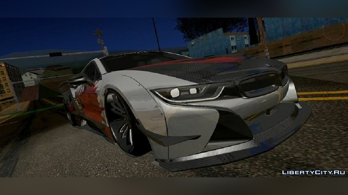 Машина BMW I8 Liberty Walk [PC и Mobile] для GTA San Andreas (iOS, Android)