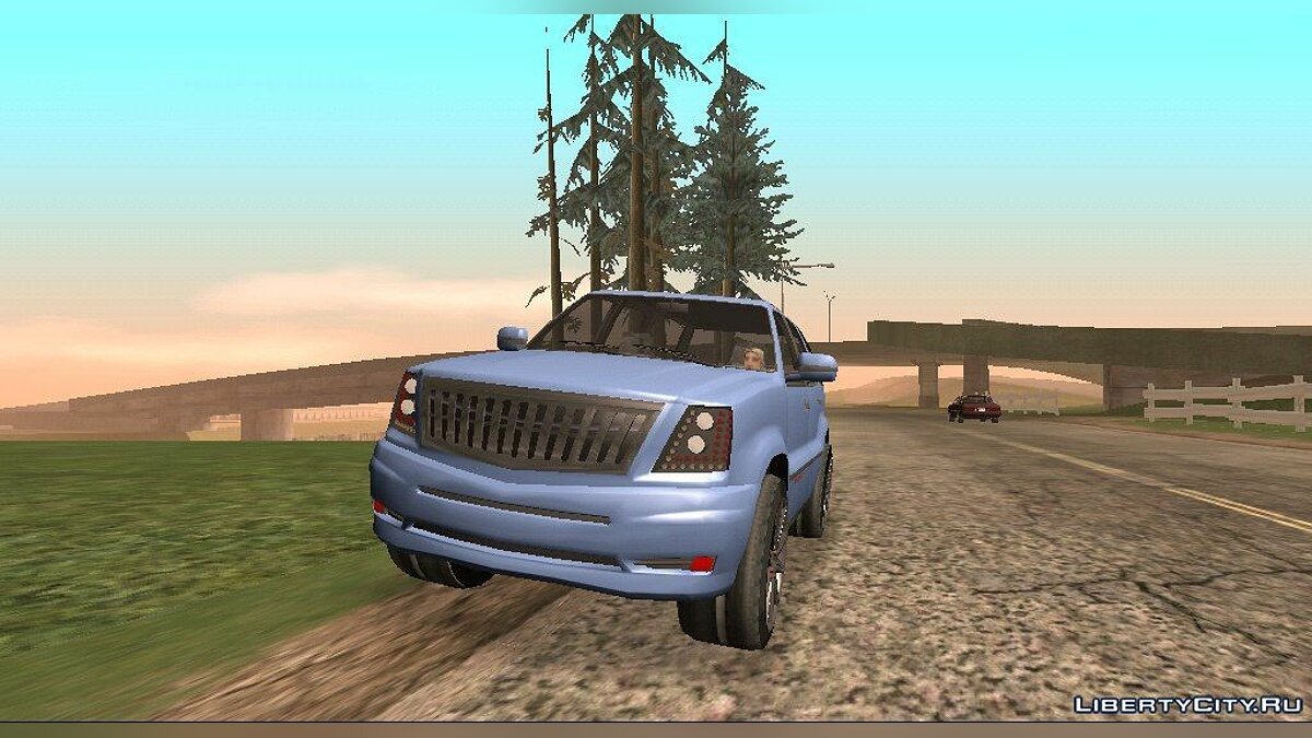 GTA V Albany Cavalcade для GTA San Andreas (iOS, Android)