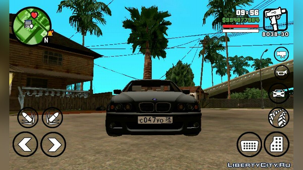 BMW M5 для GTA San Andreas (iOS, Android)