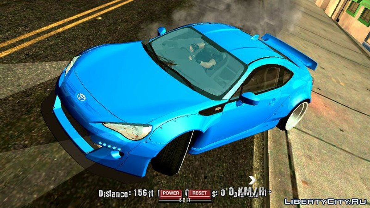 Toyota 86 Rocket Bunny для GTA San Andreas (iOS, Android) - Картинка #3