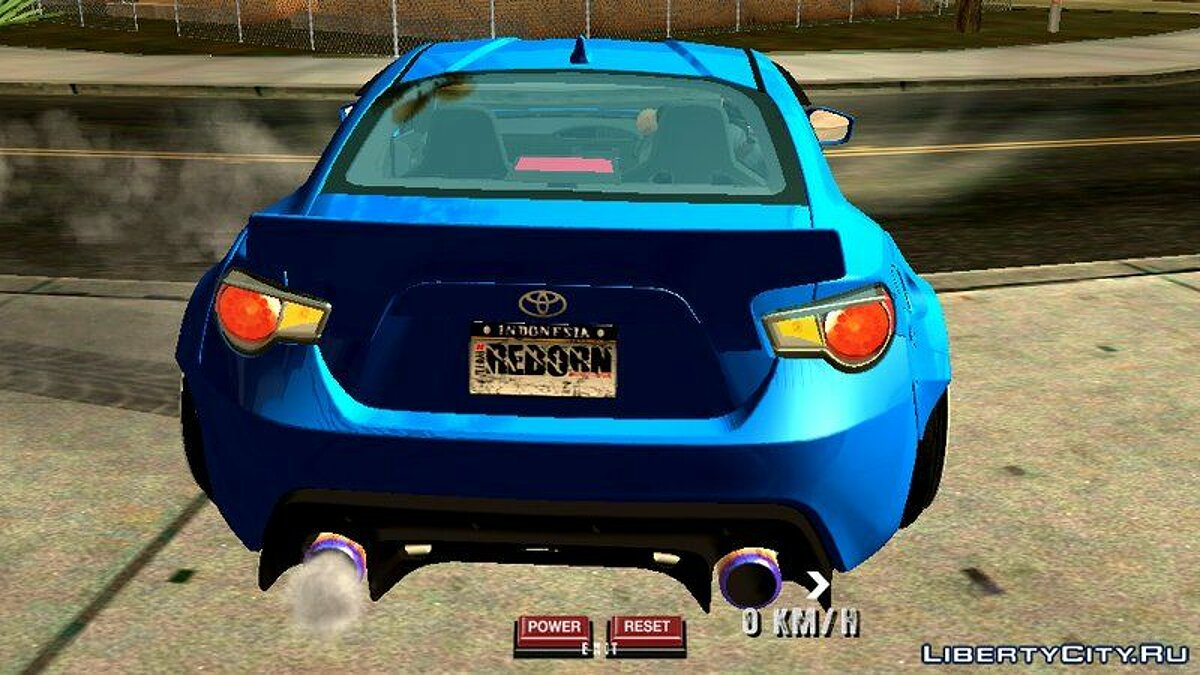 Toyota 86 Rocket Bunny для GTA San Andreas (iOS, Android) - Картинка #2