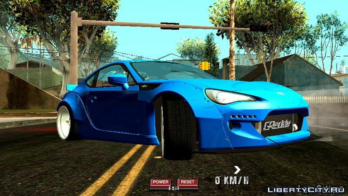 Toyota 86 Rocket Bunny для GTA San Andreas (iOS, Android) - Картинка #4