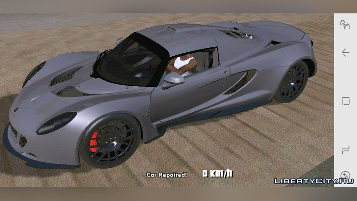 Hennessey Venom GT for Mobile для GTA San Andreas (iOS, Android)