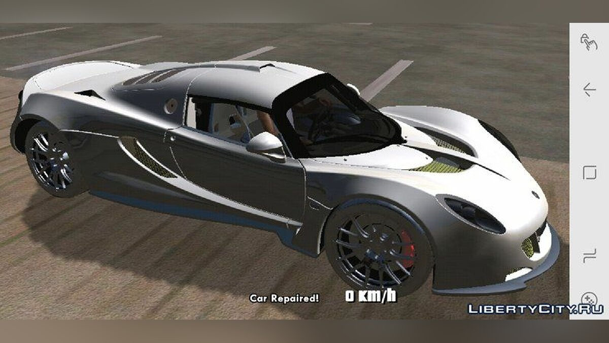 Hennessey Venom GT for Mobile для GTA San Andreas (iOS, Android) - скриншот #2