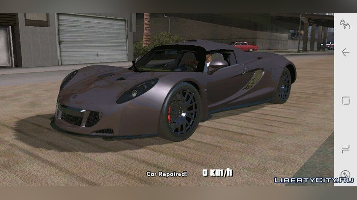 Hennessey Venom GT for Mobile для GTA San Andreas (iOS, Android) - скриншот #3