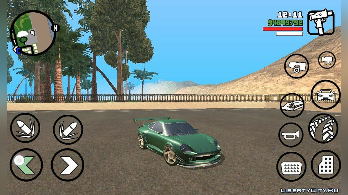 GTA V Pfister Comet для GTA San Andreas (iOS, Android)