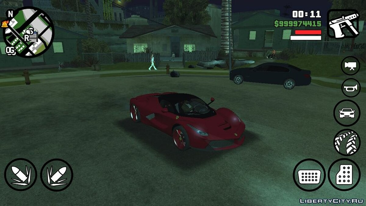 Машина La Ferrari для GTA San Andreas (iOS, Android)