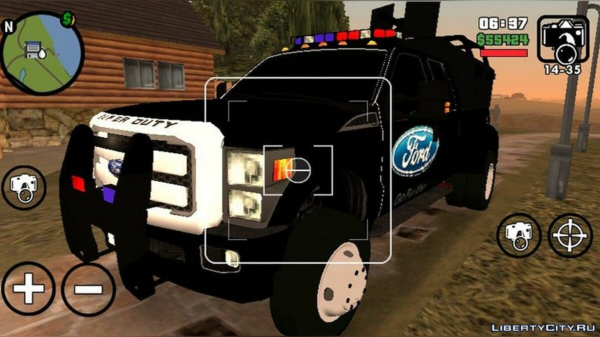 Машина Ford Super Duty F450 для GTA San Andreas (iOS, Android)