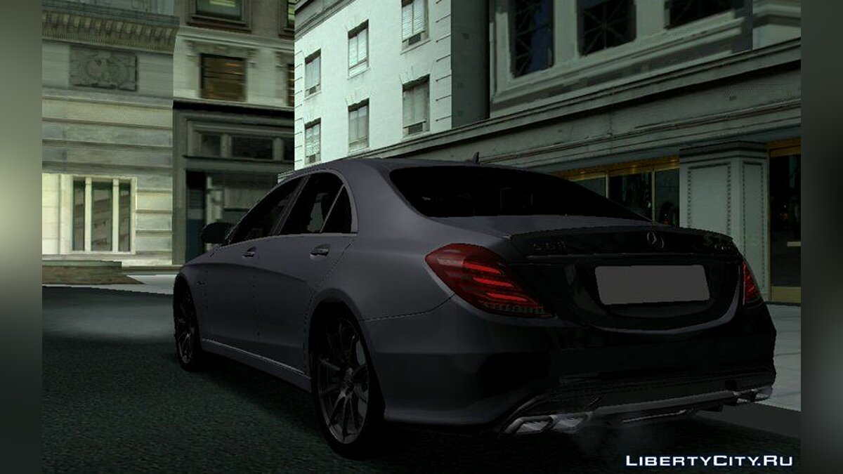 Mercedes Benz S63 AMG для GTA San Andreas (iOS, Android) - Картинка #2