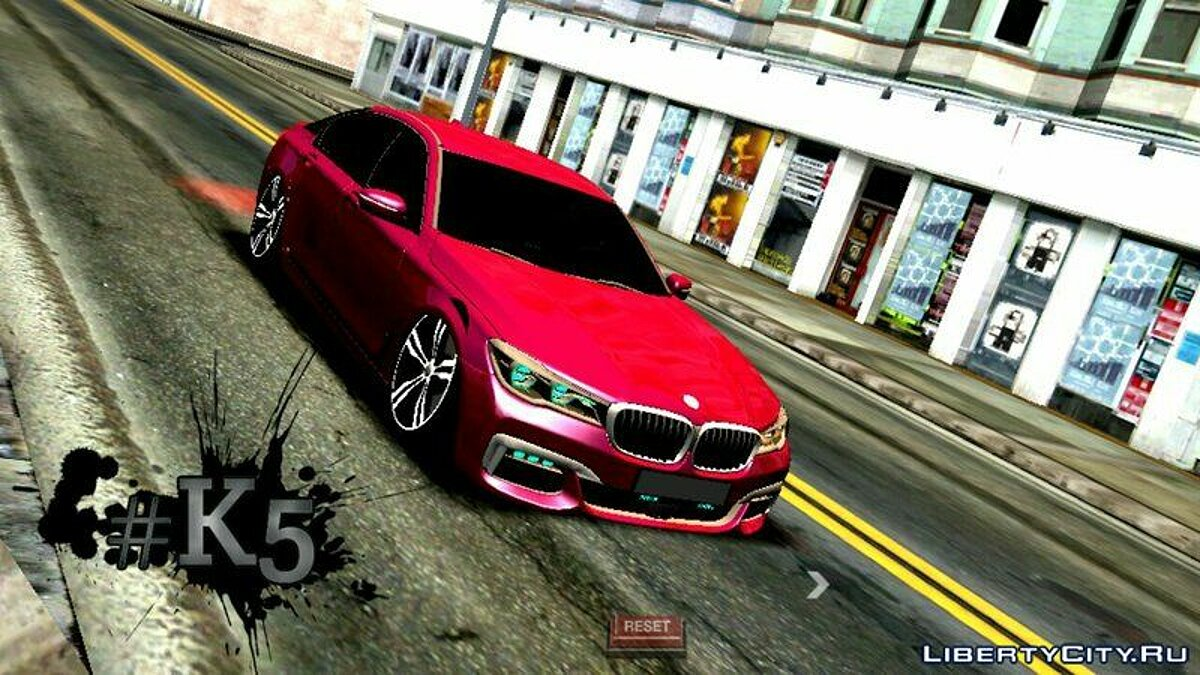 BMW 750li 2016 для GTA San Andreas (iOS, Android)