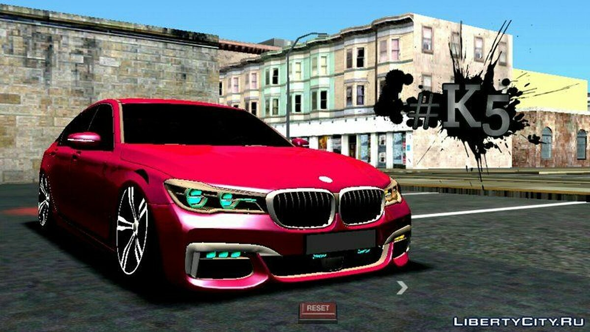 BMW 750li 2016 для GTA San Andreas (iOS, Android) - скриншот #2