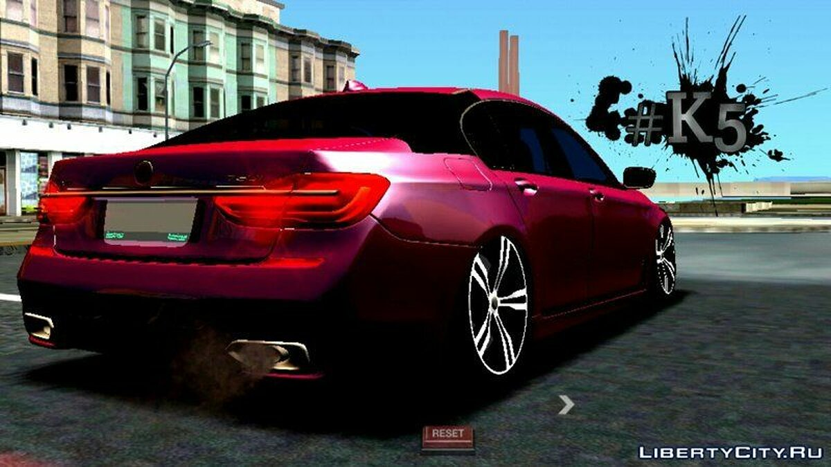 BMW 750li 2016 для GTA San Andreas (iOS, Android) - скриншот #3
