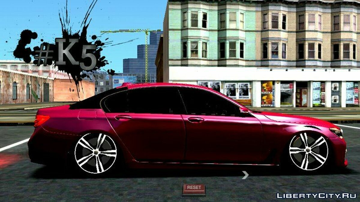 BMW 750li 2016 для GTA San Andreas (iOS, Android) - скриншот #4