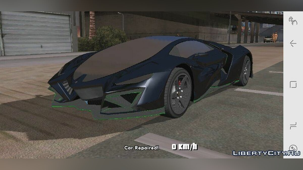 Pegassi Millennium for Mobile для GTA San Andreas (iOS, Android) - скриншот #3