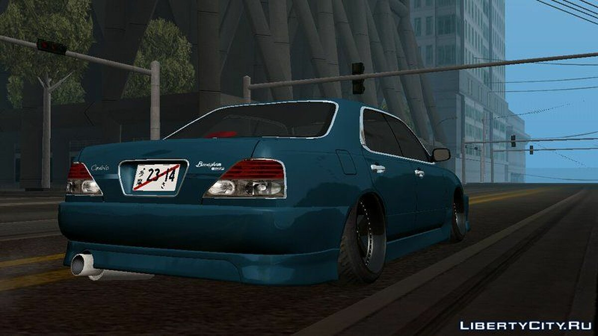 Nissan Cedric Brougham VIP для GTA San Andreas (iOS, Android) - Картинка #3