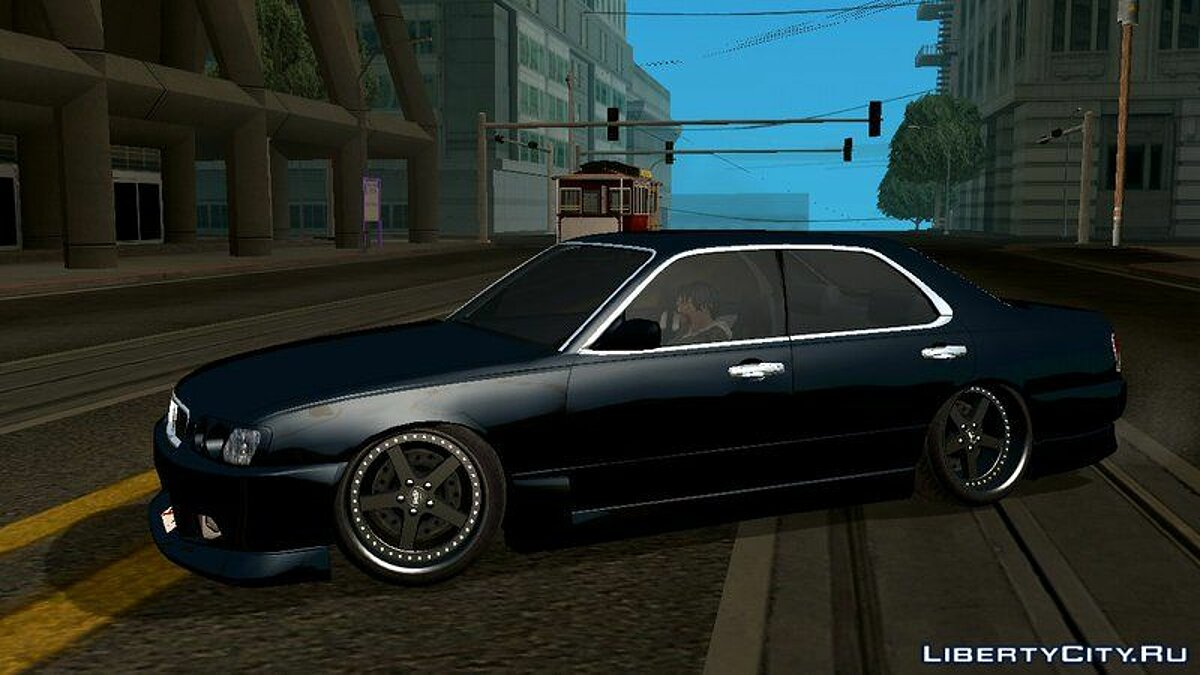 Nissan Cedric Brougham VIP для GTA San Andreas (iOS, Android) - Картинка #5