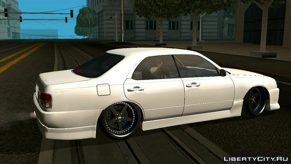 Nissan Cedric Brougham VIP для GTA San Andreas (iOS, Android) - Картинка #6