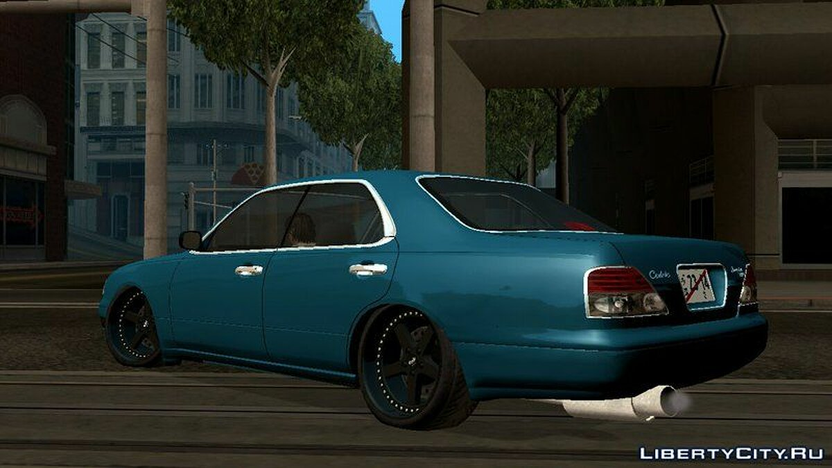 Nissan Cedric Brougham VIP для GTA San Andreas (iOS, Android) - Картинка #7
